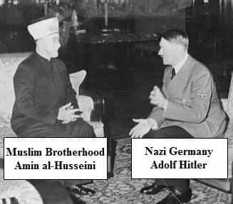 Muslim Brother and Adolf Hitler