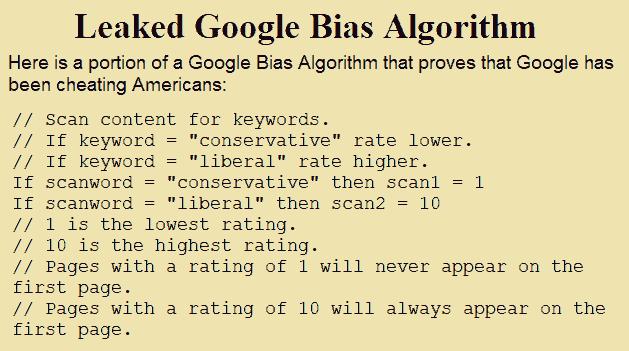Google Prejudice