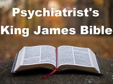 Psychiatrist's King James Bible