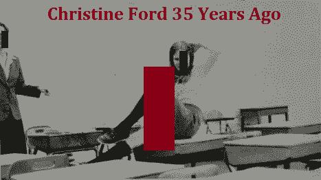 Christine Ford 35 Years Ago