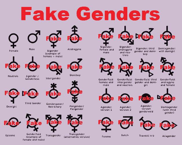 Fake Genders